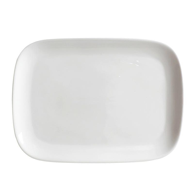 Hotel Used Ceramic Cafe China Dinner Sets Restaurant White Porcelain Plates Sets Dinnerware