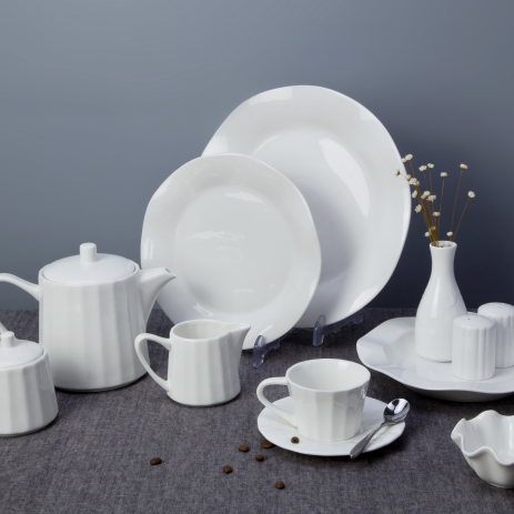 Top choice white porcelain dinnerware set