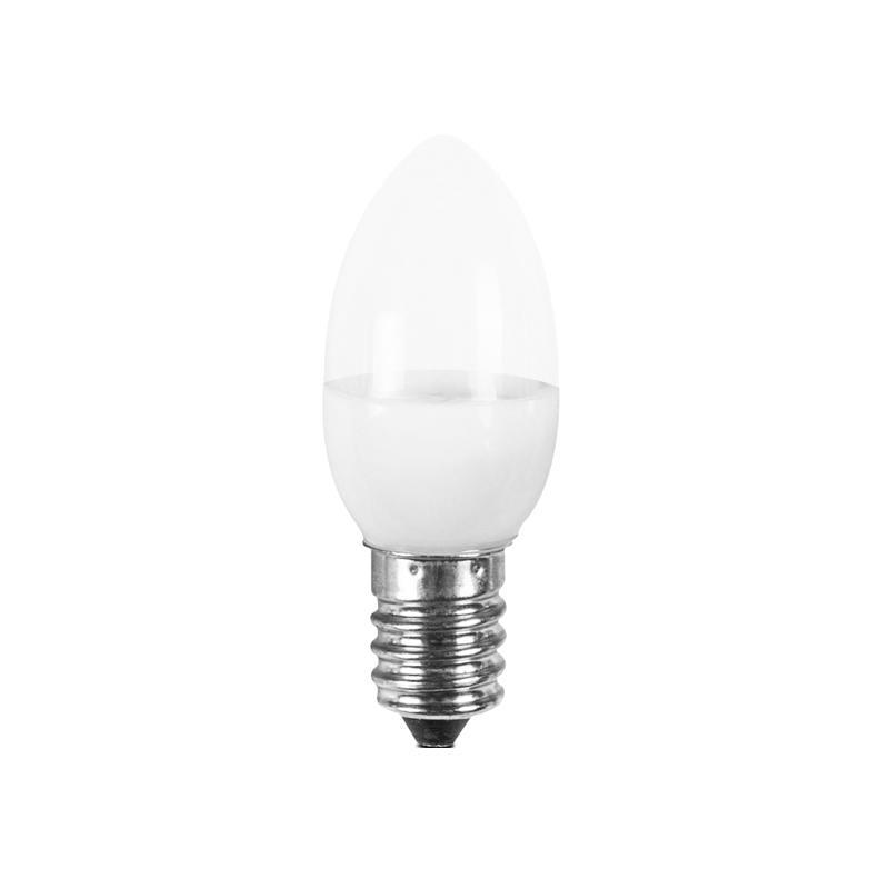 OEM C7 110V 240V 1w E12 E14 led light bulb for candle light and night light wall lamp