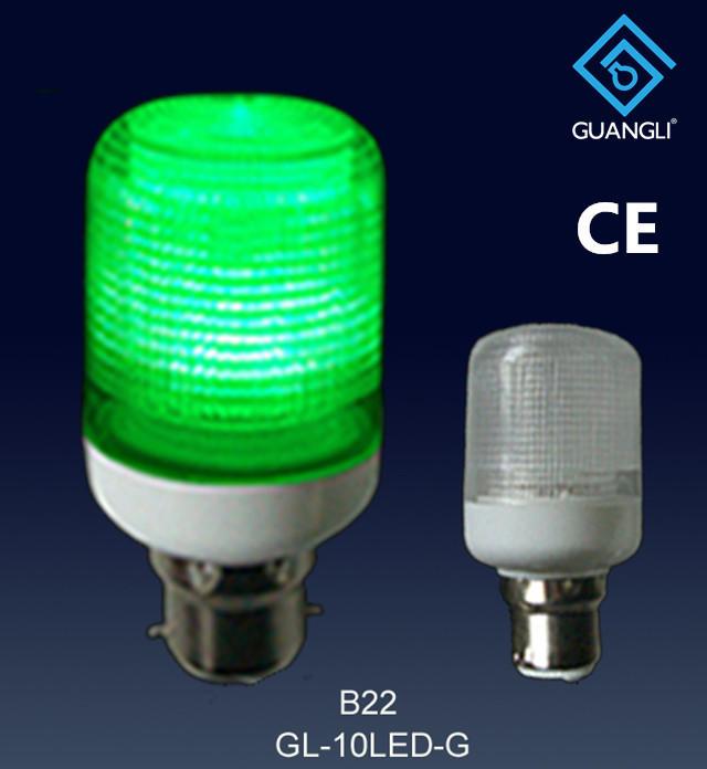 GL- 10LED 110V 240V 1w E27 B22 led light bulb for candle light and night light wall lamp