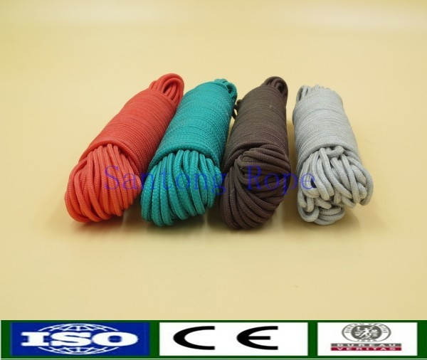 6mm Diamond braid pp hammock suspension rope