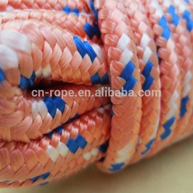 Diamond braid polypropylene rope for hammock tent rope