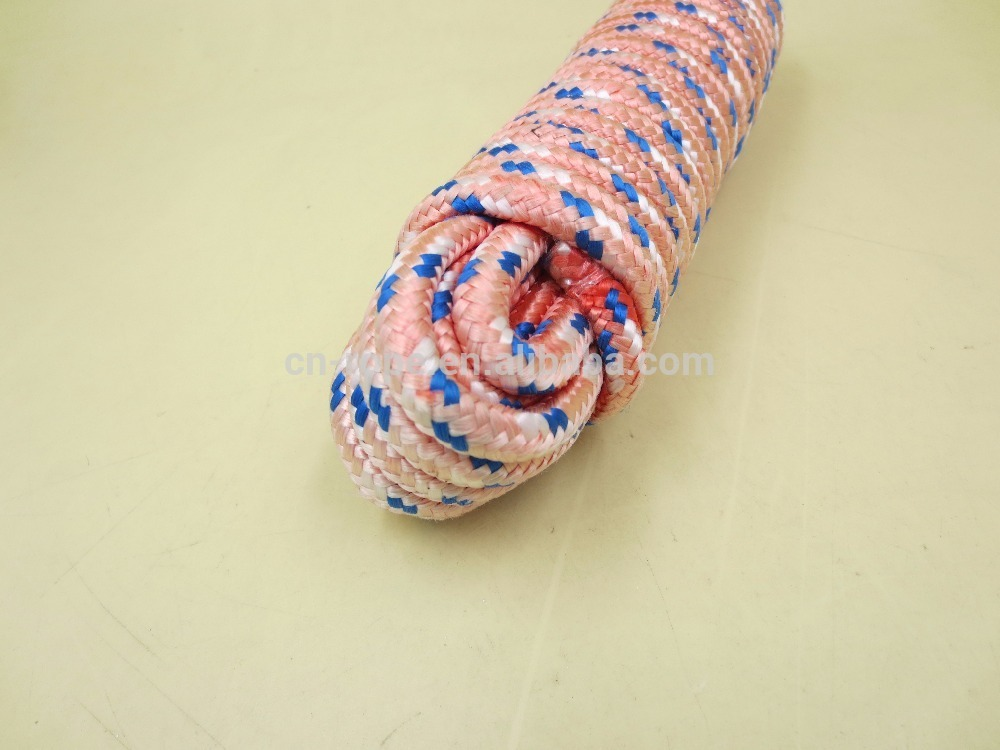7mm Braid polyester rope for hammock,tent