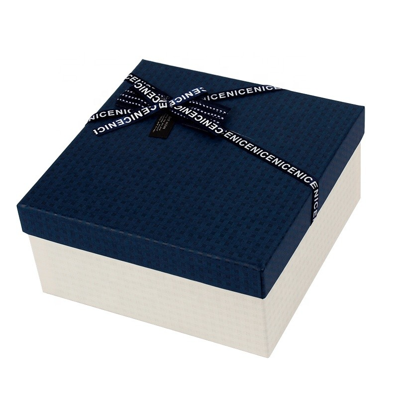 Boutique design wedding boxes for guests gift box