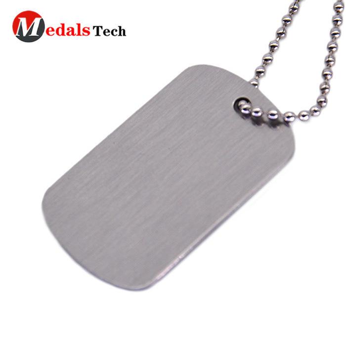 Wholesale military customfashion metal dog tag for man