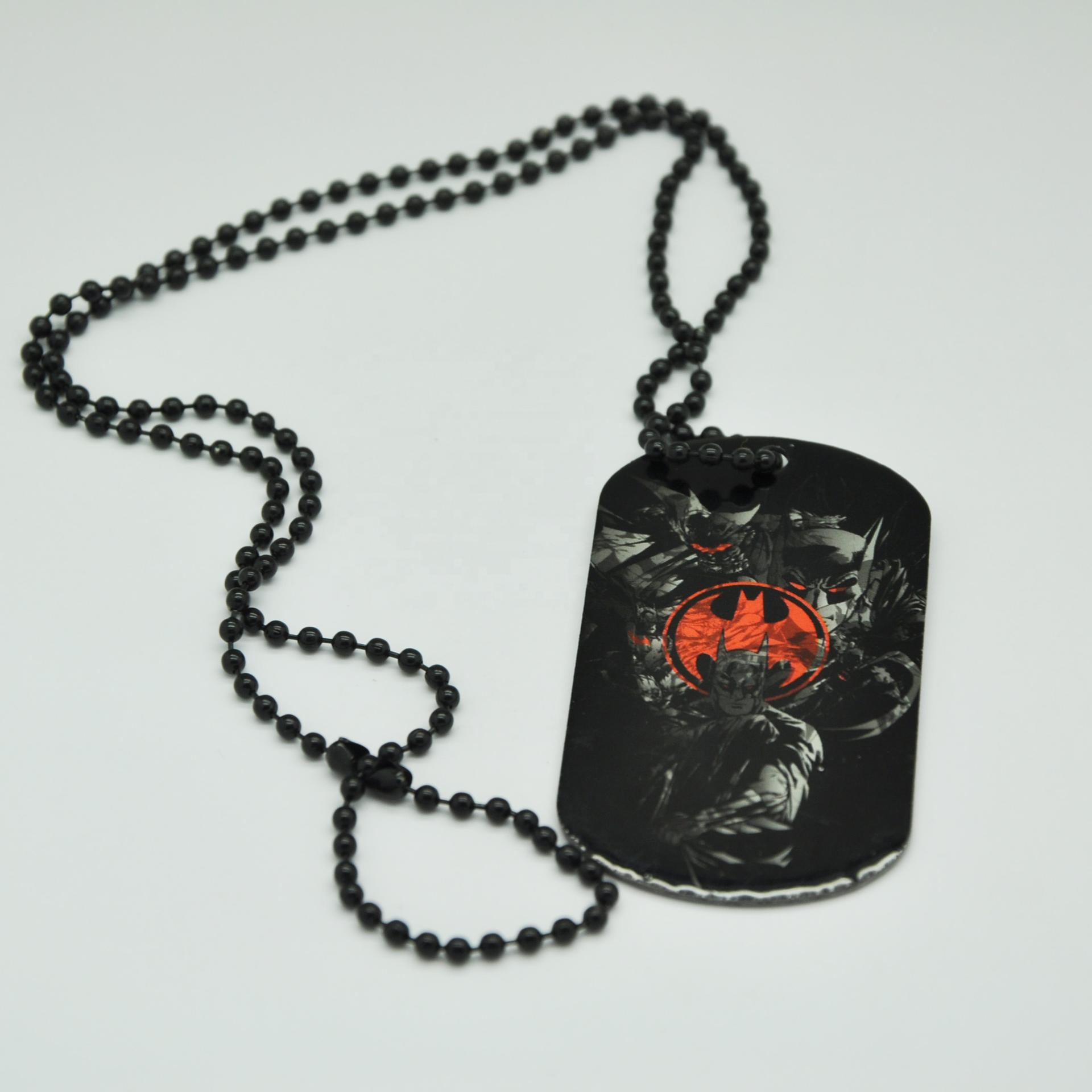 Factory wholesale Promotional aluminum dog tag for sublimation printing