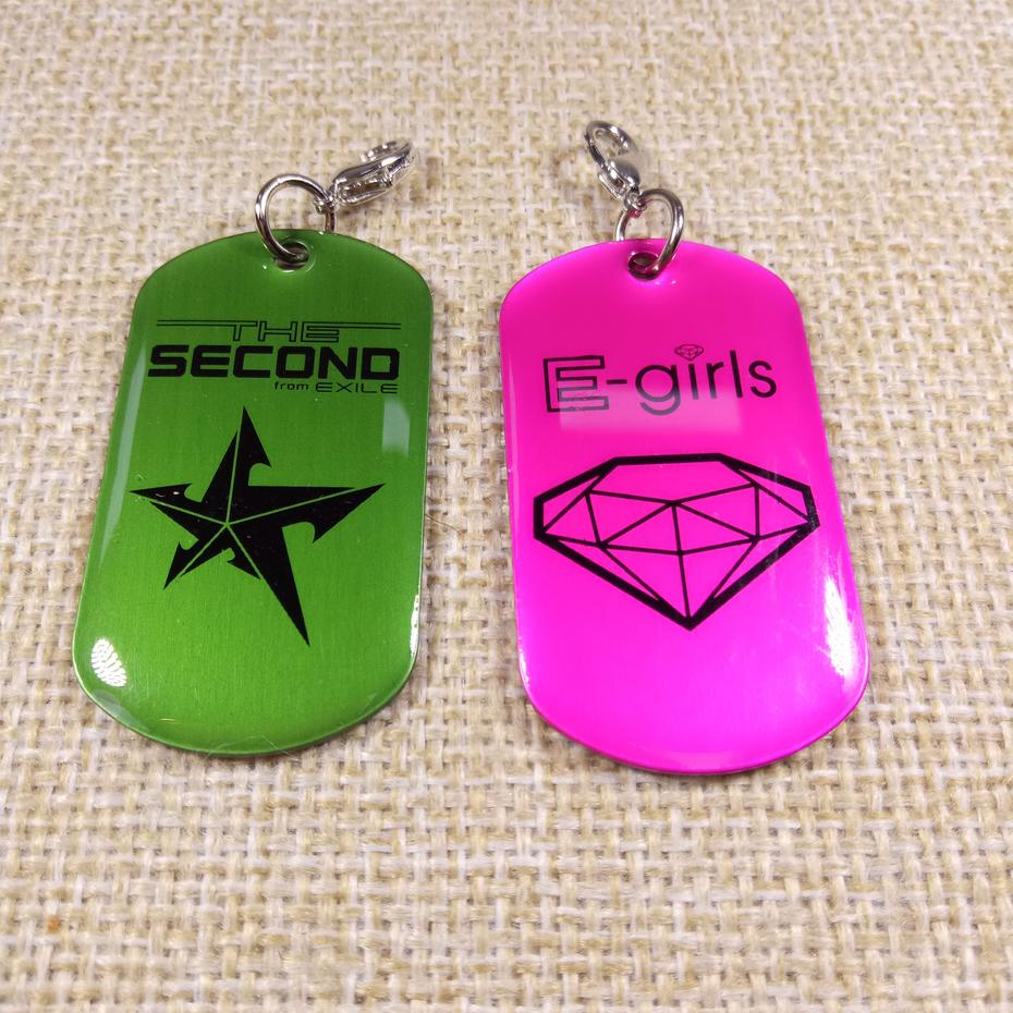 Hot sale customized aluminum sublimation printed military dog tags
