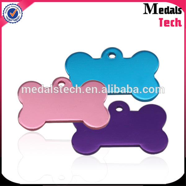 High quality colorful cheap anodized aluminum dog tag