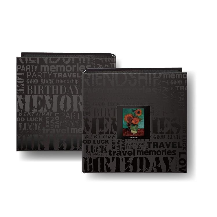 Wholesale Cheap Price Cloth Fabric Covered 4x6 Photo Albums With PP Pocket Plastic Sheets