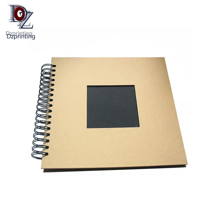 product-Dezheng-Photo Album Fabric Cover Linen DIY Photo Album Self Adhesive Cotton Photo Album-img-3