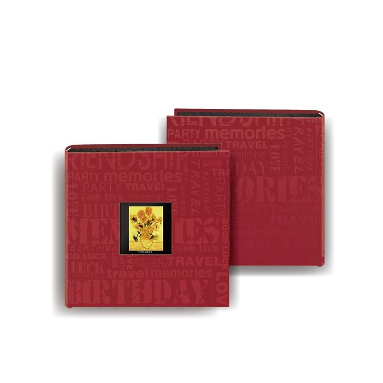 product-Dezheng-Wholesale Cheap Price Cloth Fabric Covered 4x6 Photo Albums With PP Pocket Plastic S-1
