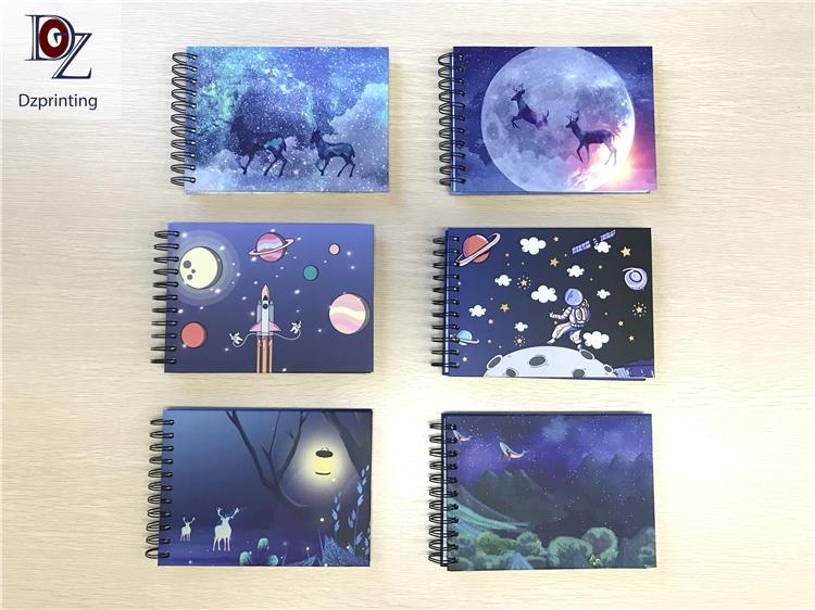product-Photo Album Fabric Cover Linen DIY Photo Album Self Adhesive Cotton Photo Album-Dezheng-img-4