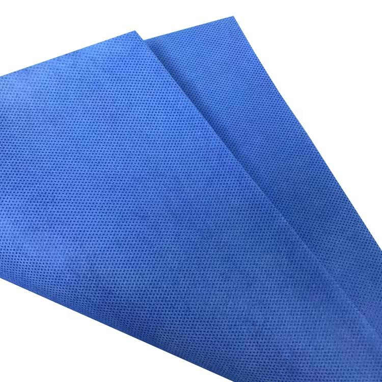 S,SS,SMS blue,white,bed sheet 100%pp spunbond non-woven fabric