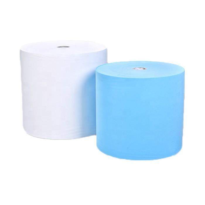 White SSS hydrophilic or hydrophobic non woven fabric for diaper