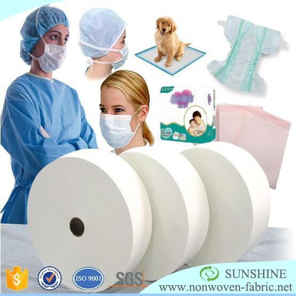 China Supplier PP nonwoven fabric medical grade polypropylene