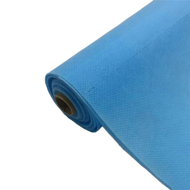 nonwoven bed sheet sms pp spunbond non woven fabric for medical spa non woven bedsheet