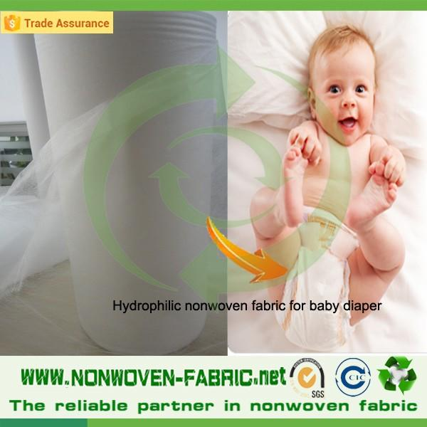 100% virgin polypropylene hydrophilic nonwoven fabric for wet wipes