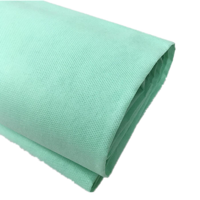 15g-60g high quality white and blue SMS polypropylene spun bonded nonwoven fabric