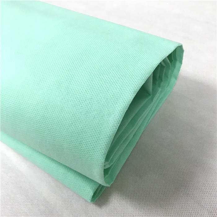 SMS spunbond+meltblown+spunbond 100%PP spunbond non woven fabric