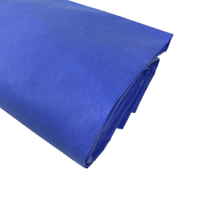new material SMS Medical blue polypropylene disposable hygiene non woven fabric