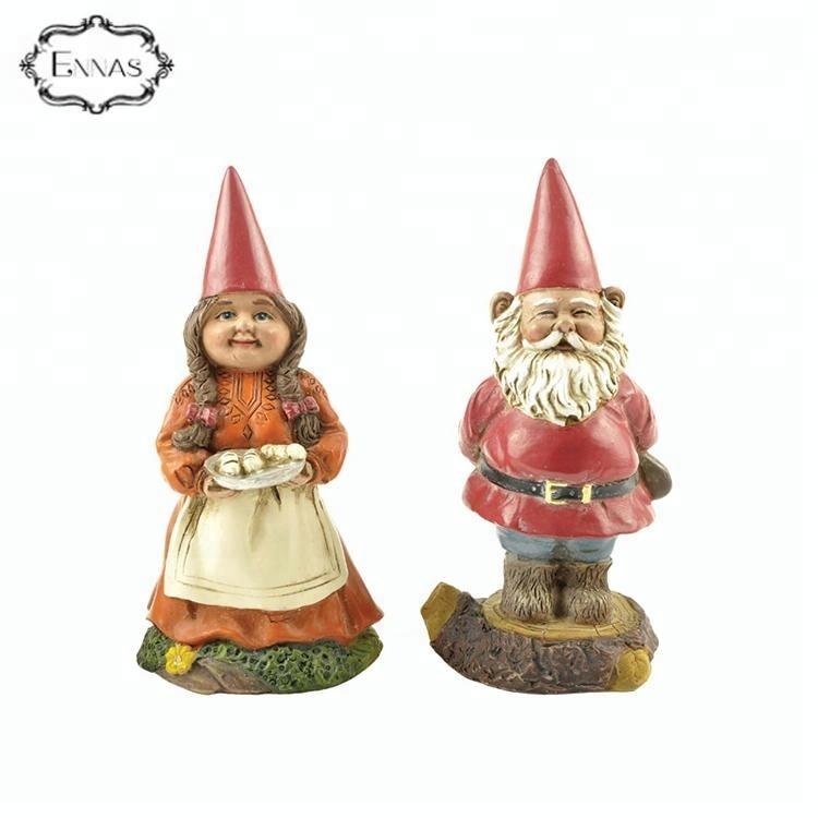 Wholesale Christmas Decoration Mr. & Mrs. Santa Claus Resin Figures