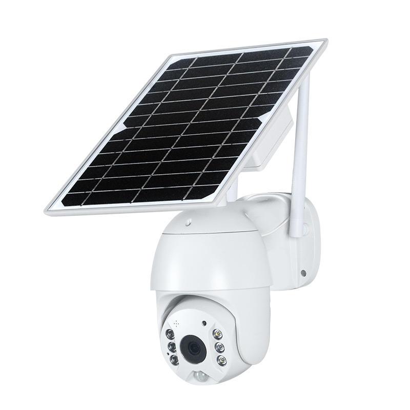 ALLTOP Outdoor 4g solar panel cctv camera 4g wifi home speaker pir solar camera