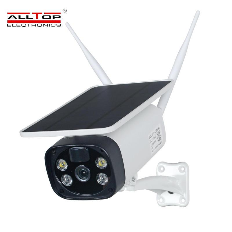 ALLTOP 4G Wifi LTE 1080P Security HD Night Vision Waterproof IP65 CCTV Solar Power Camera