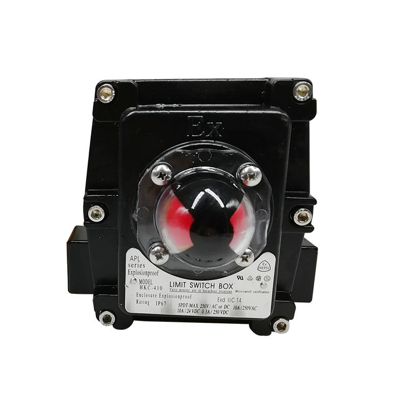 APL Series APL-410N Explosion Proof Design Pneumatic Actuator Limited Switch