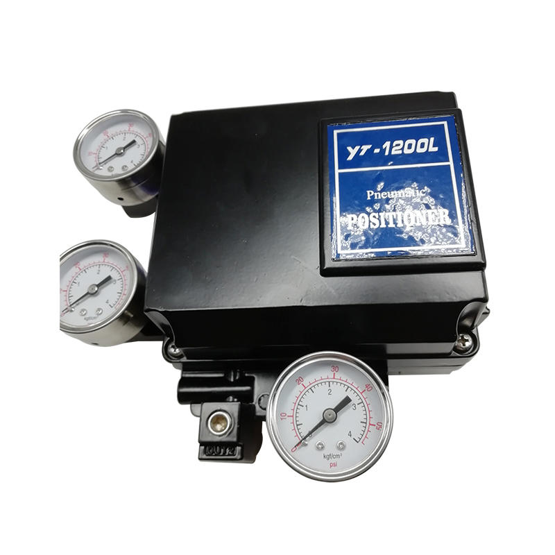 YT-1200L Series Pneumatic Positioner YT-1200LS Electro Pneumatic Single Acting Rotary Type Positioner