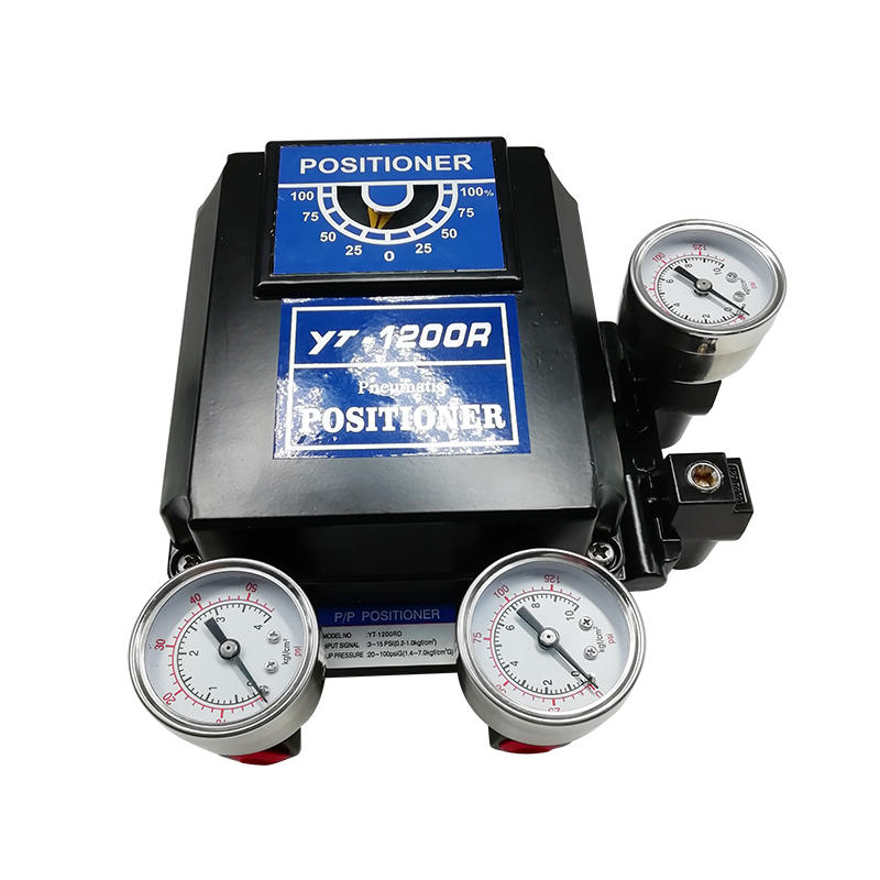 Double Acting Positioner YT-1200RD Electro Pneumatic Controller Rotary Type Positioner
