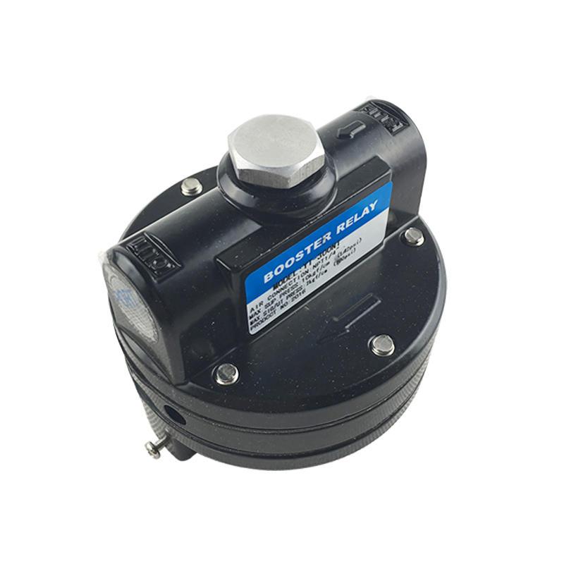 Pneumatic Amplifier Black 1/4 Inch YT-305 YT-325 YT-300N YT-320 YT Series Pneumatic Volume Booster
