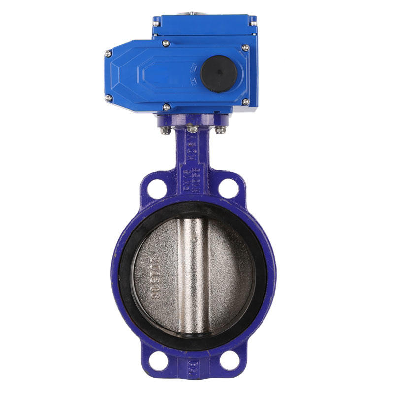 PTAT series water Butterfly Valve stainless steel high temperature high pressure Electric actuator