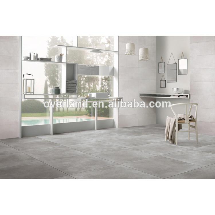 Antique style bathroom floor tile