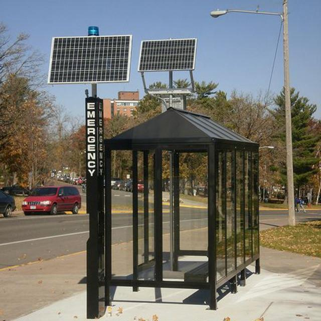 New Design Solar Bus Stop Shelter Manufacturers