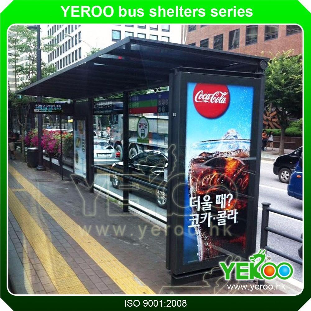 School Bus Stop Shelter Manufacture Building Materials Polycarbonate