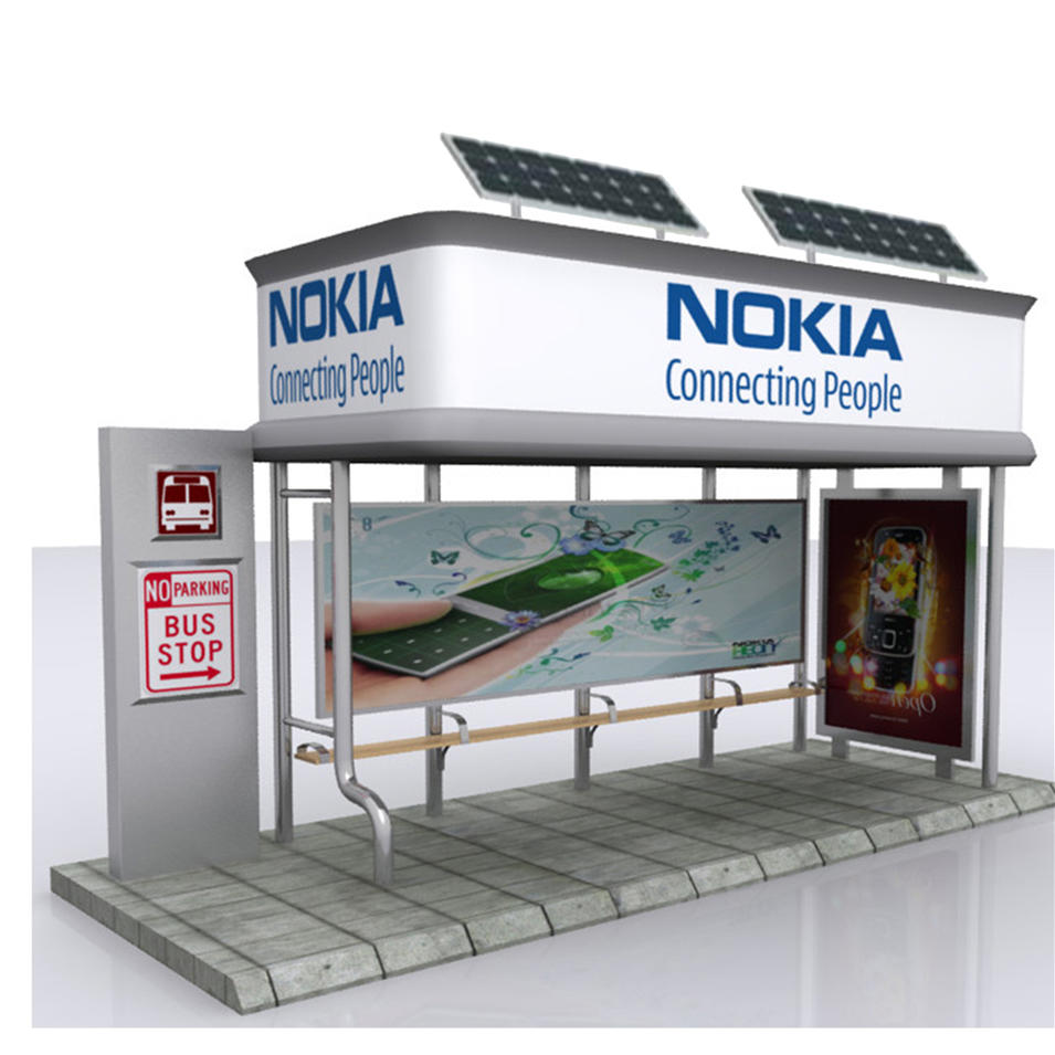 The best China manufacturer bus stop shelter
