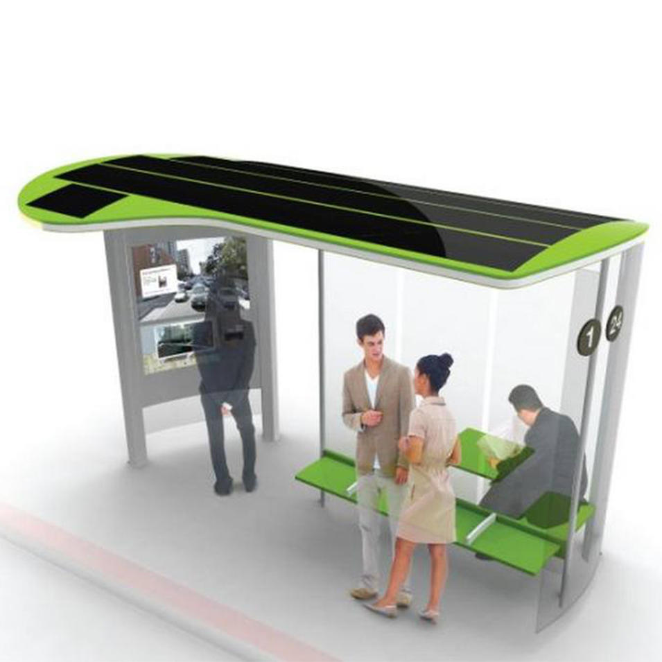 High quality modern bus station shelter design