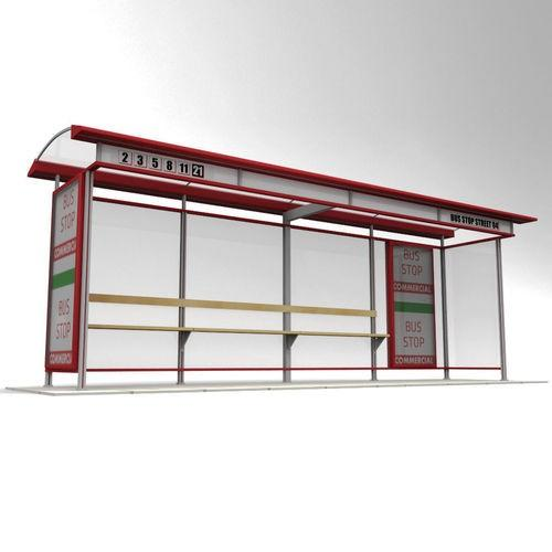 Newest Advertising Solar Bus Stop Station