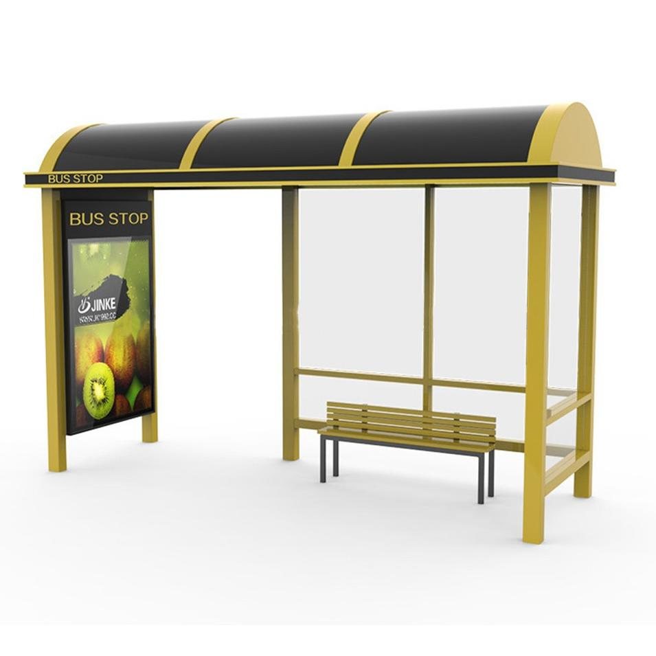 Outdoor Stylish Design Bus Stop Shelter For Sale