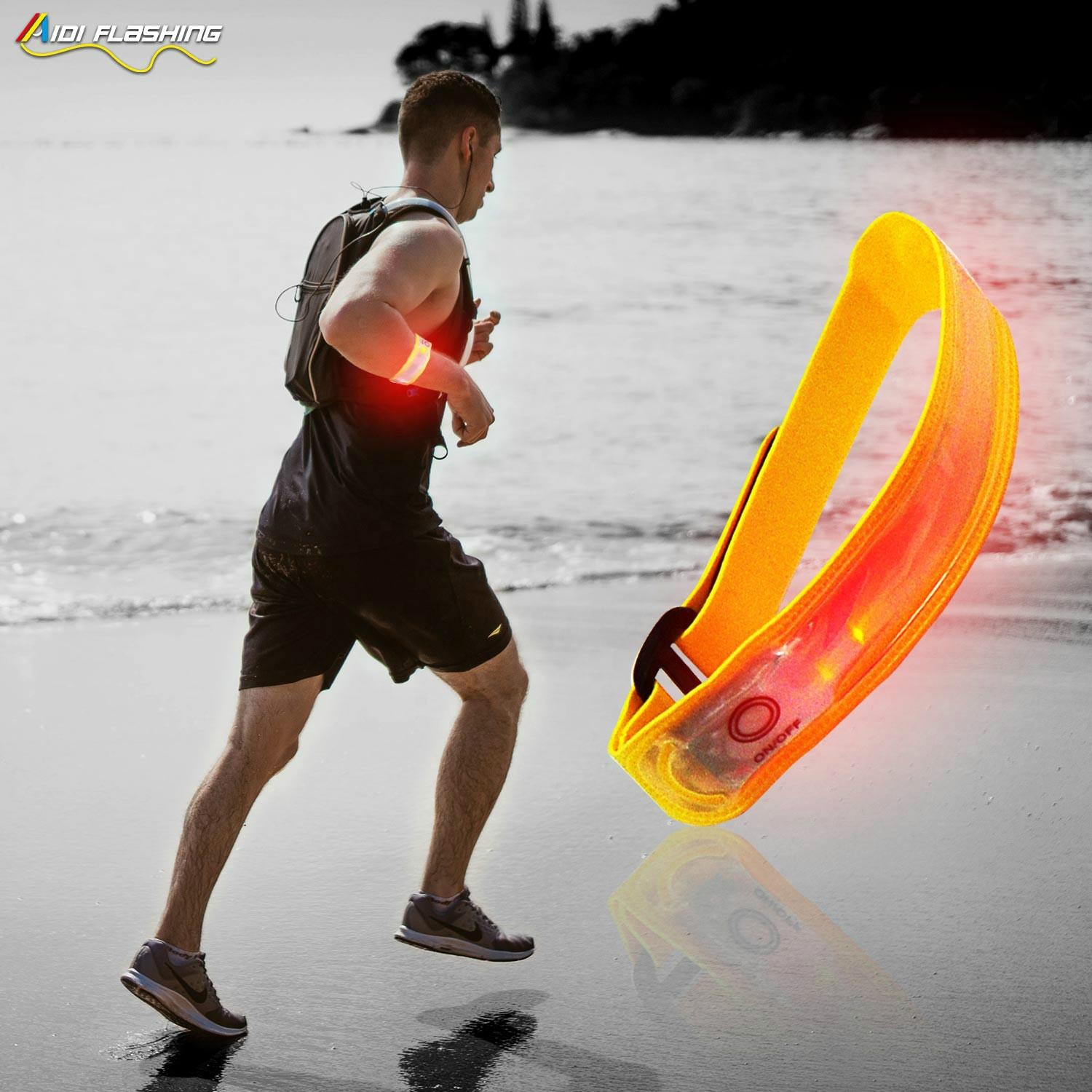 New Style Lightweight Led Sport Armband for Running in the Dark