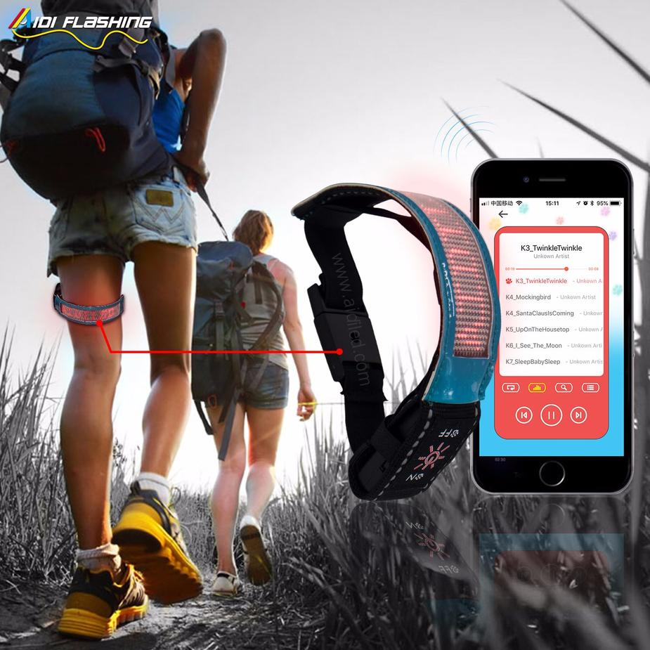 APP Connect Sport Safety LED Running Armband