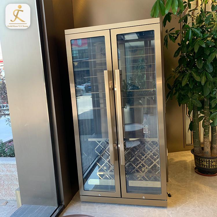 customized wine cooler fridge cabinets OEM electronic wine cooler refrigeratorstainless steel wine fridge