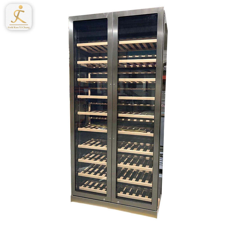 OEM Wholesale No Noise Hotel Bar Restaurant Kitchen Appliance Electric Mini Wine Cooler Wine Cabinet Wine Refrigerator