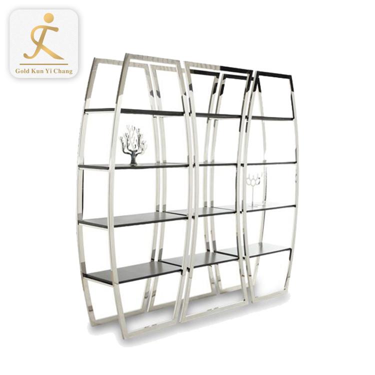 lattice restaurant hotel home decorative metal wine glass display rack stainless steel multi tiers artware display wine rack