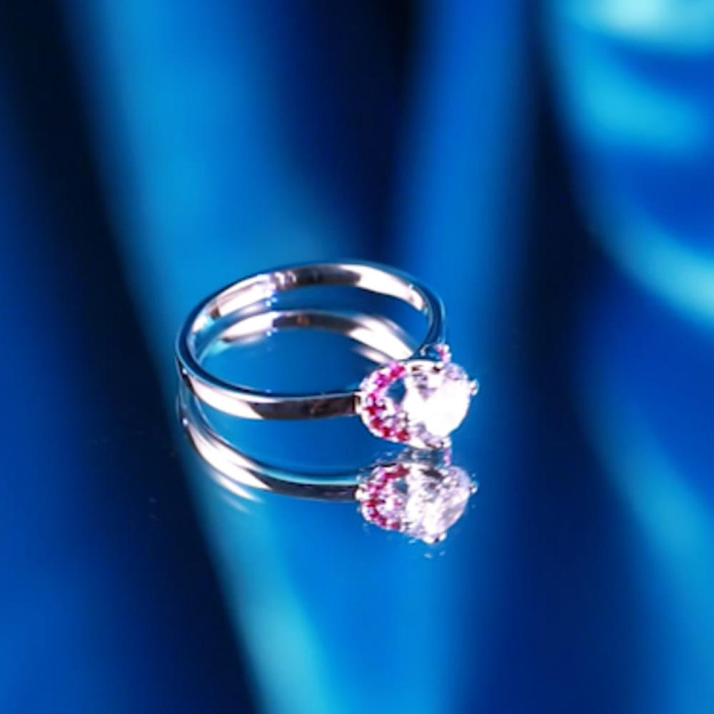 Perfectly cubic stone silver elegant zales engagement rings