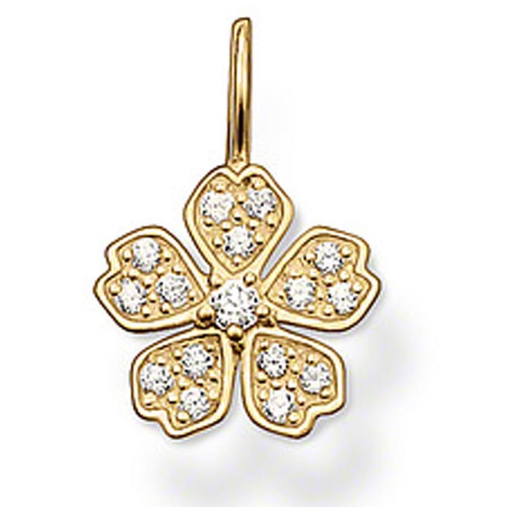 Popular sakura cz flower wholesale japan costume jewelry