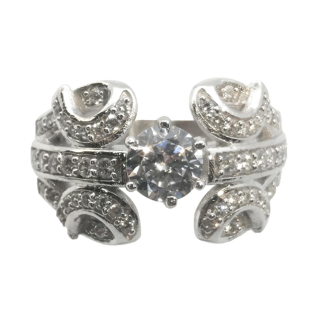 925 Silver Butterfly Shaped Diamond Engagement Rings Under 100