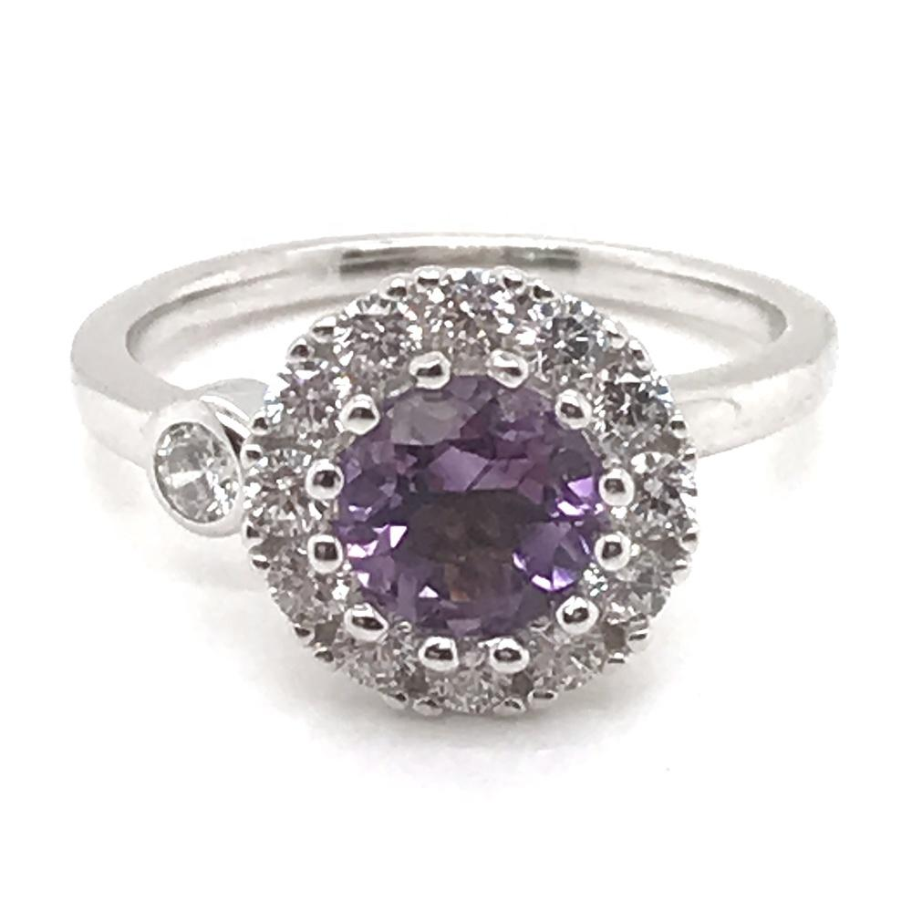 Boutique Blue Stone 925 Sterling Silver Jewelry Wholesale In Rings