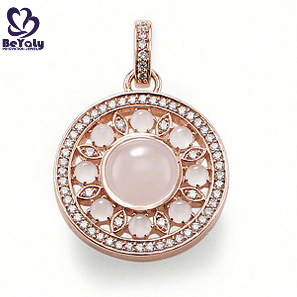 Nice gold plated 925 sun sterling silver diamond necklace