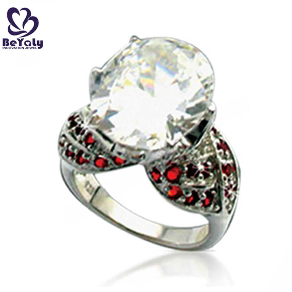 Classic design yellow stone value 325 silver ring, 8925 ring silver plated